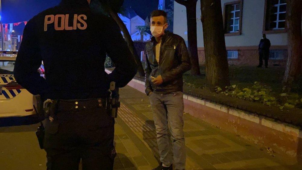 Karantinayı deldi, Alkollü ve Ehliyetsiz Yakalandı!
